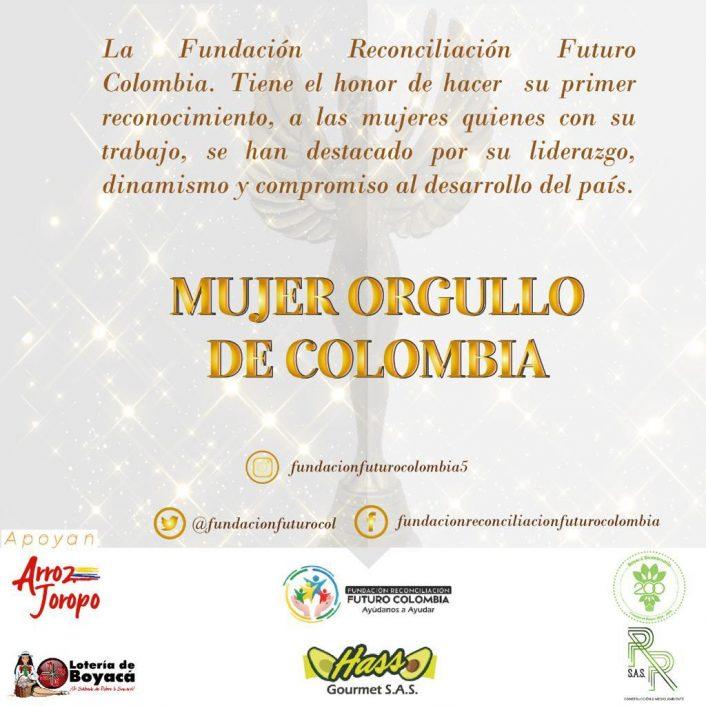 Mujer Orgullo de Colombia